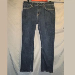 Volcom Solver Modern Straight Dark Wash Jeans MENS